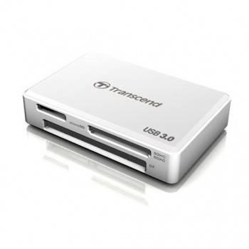Картридер USB3.0 Transcend TS-RDF8W белый