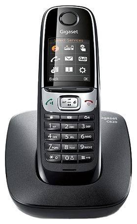 Телефон Gigaset C620 черный - фото 1