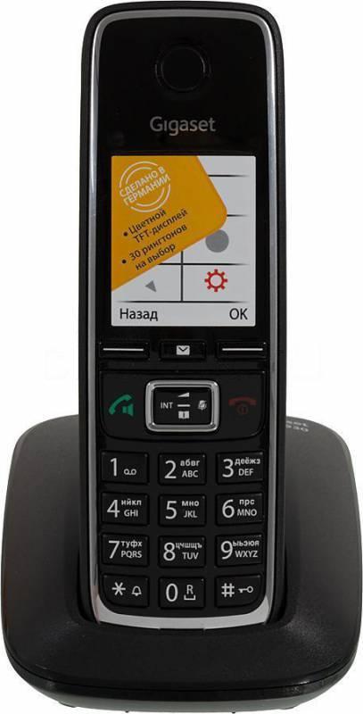 Телефон Gigaset C530 черный - фото 1