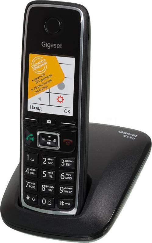 Телефон Gigaset C530 черный - фото 2