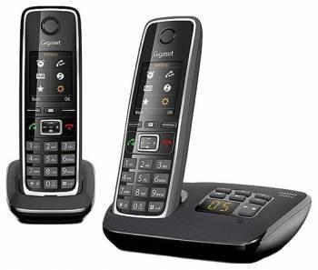 Телефон Gigaset C530A DUO черный