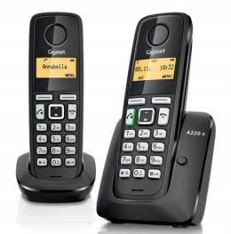 Телефон Gigaset C530A DUO черный - фото 2