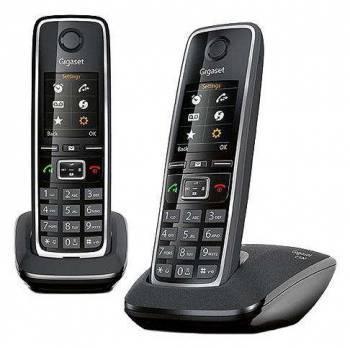 Телефон Gigaset C530 DUO черный