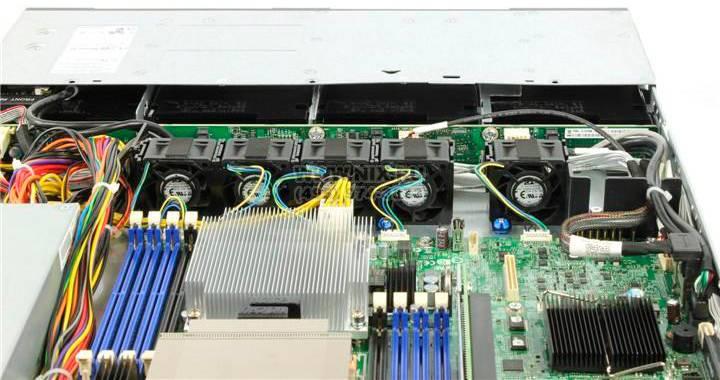 "Платформа Intel Original R1304SP4SHOC x4 3.5""/2x450W max2/1xLGA1356, 6xDIMM/4xRJ-45/1U (R1304SP4SHOC - фото 5"