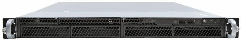 "Платформа Intel Original R1304SP4SHOC x4 3.5""/2x450W max2/1xLGA1356, 6xDIMM/4xRJ-45/1U (R1304SP4SHOC - фото 1"