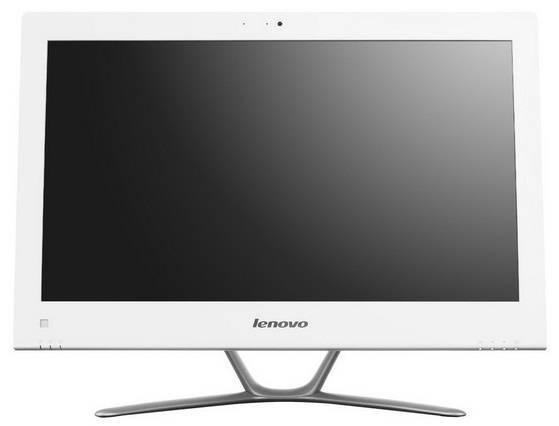 "Моноблок 21.5"" Lenovo C440 белый/серебристый - фото 1"