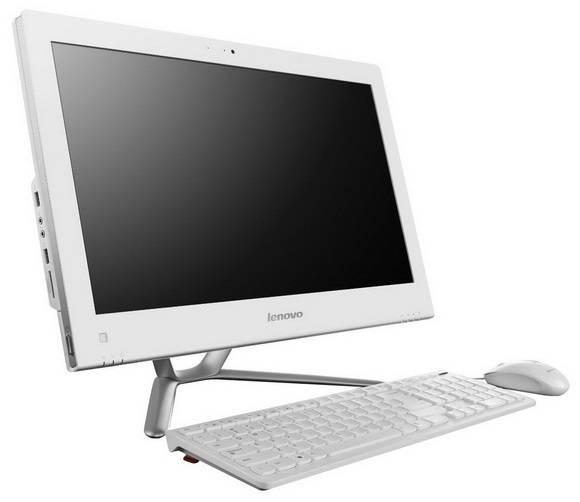 "Моноблок 21.5"" Lenovo C440 белый/серебристый - фото 2"