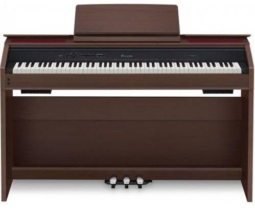 Цифровое фортепиано Casio PRIVIA PX-850BN коричневый - фото 1