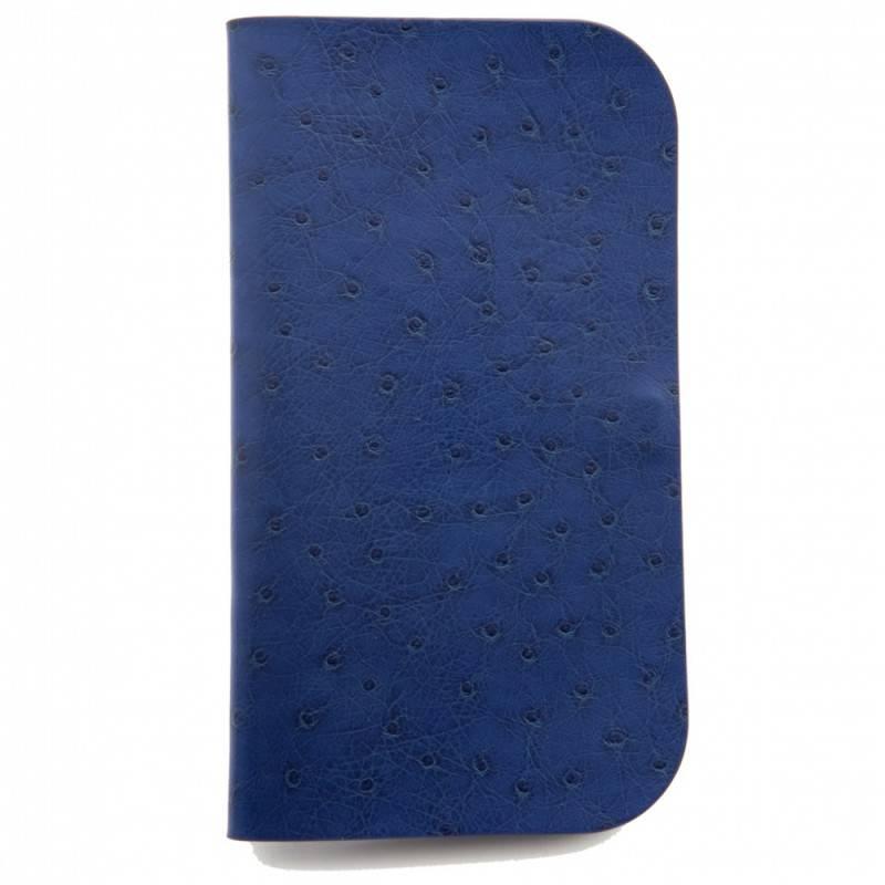 Чехол Anymode Fashion Sleeve ACS-L1620BL blue пластик/кожа/замша - фото 1