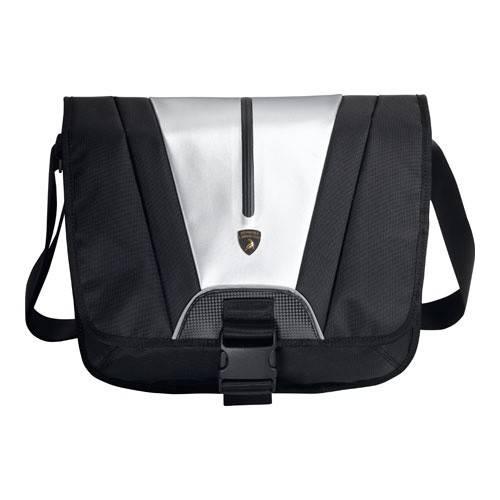 """Сумка для ноутбука 12"""" Asus Automobili Lamborghini черный/серый - фото 1"""