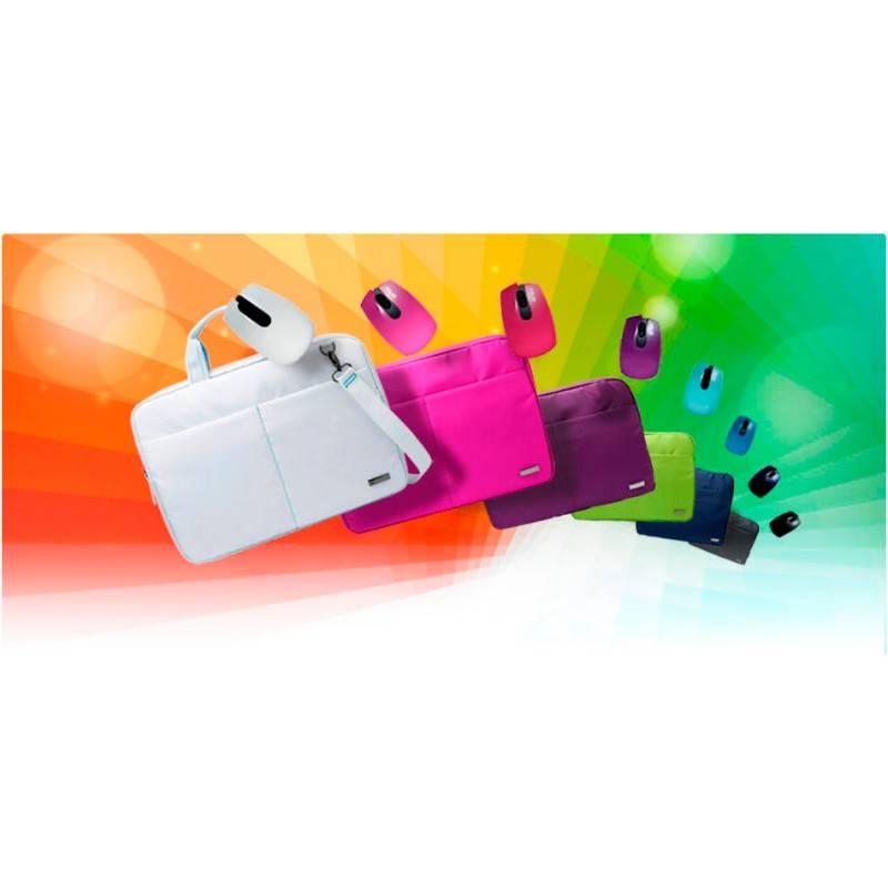 """Сумка для ноутбука 12"""" Asus Terra Mini розовый - фото 4"""