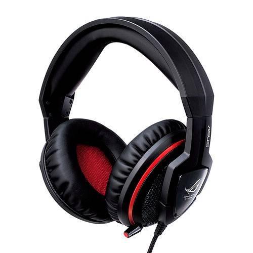 Наушники с микрофоном Asus ROG Orion черный/красный - фото 1
