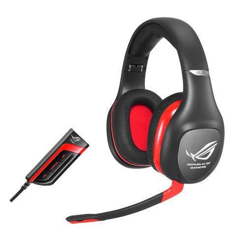 Наушники с микрофоном Asus Vulcan Pro черный/красный - фото 1