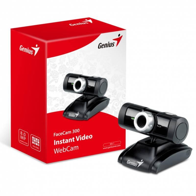 Веб-камера Genius FaceCam 300 черный - фото 6