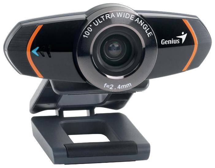 Веб-камера Genius WideCam 320 черный - фото 2