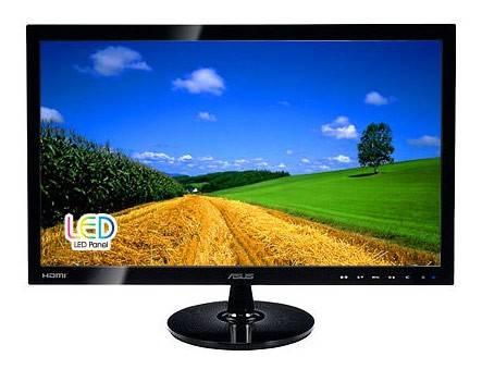 """Монитор 21.5"""" Asus VS228NE черный - фото 1"""