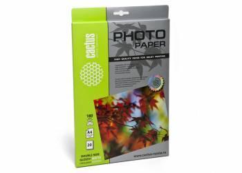 Фотобумага Cactus (CS-GMA418020) A4 / 180г / м2 / 20л. белый