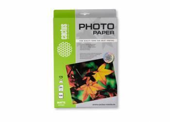 Фотобумага Cactus (CS-MA4170100) A4 / 170г / м2 / 100л. белый