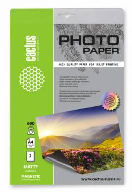 Фотобумага Cactus CS-MMA46902 A4 690г/м2 2л.
