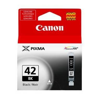 Картридж струйный Canon CLI-42BK 6384B001 черный - фото 1