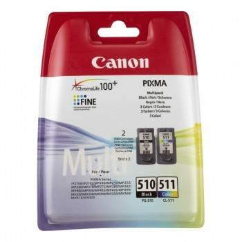 Картридж струйный Canon PG-510 / CL-511 2970B010 многоцветный / черный