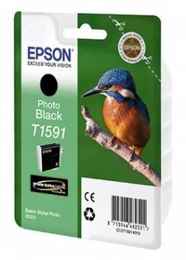 Картридж Epson T1591 фото черный (C13T15914010)