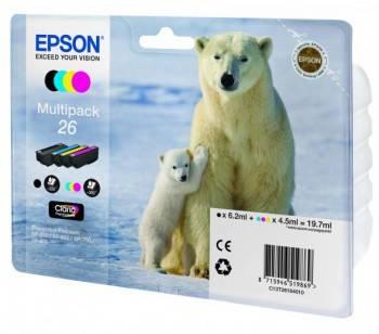 Картридж Epson T2616 4цв. (c13t26164010)