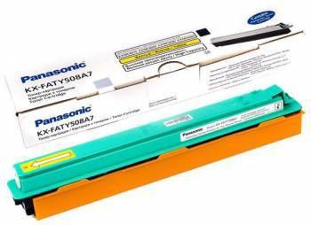 Картридж Panasonic KX-FATY508A7 желтый