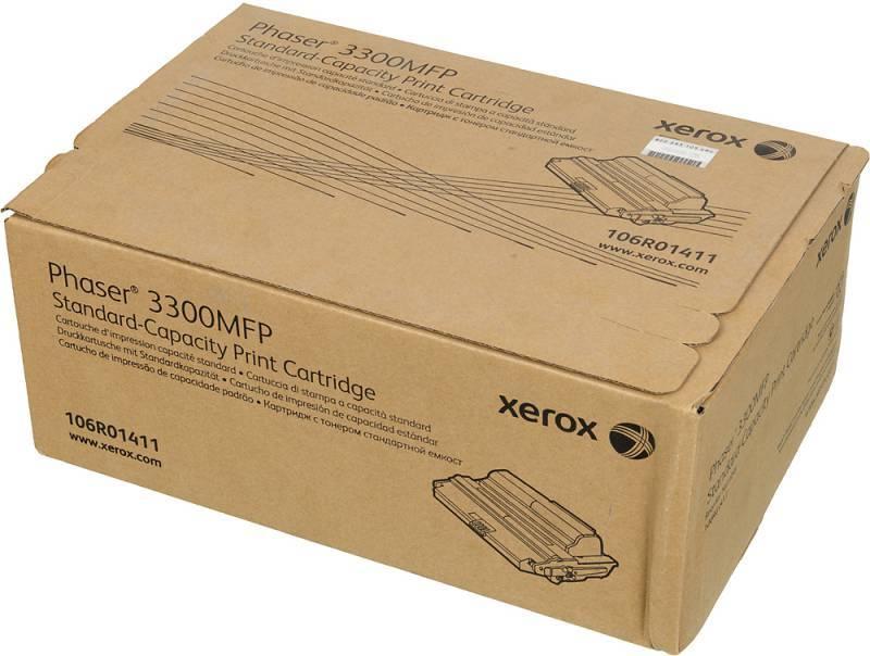 Тонер Картридж Xerox 106R01411 черный - фото 1