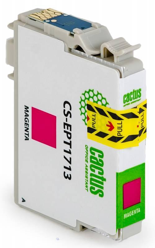 Картридж струйный Cactus CS-EPT1713 пурпурный - фото 2