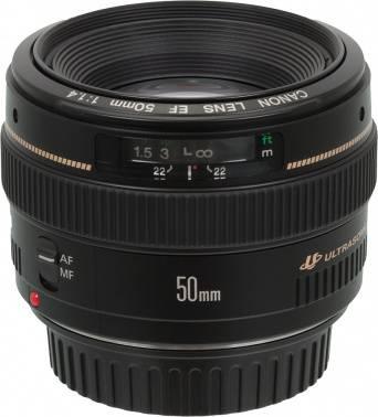 Объектив Canon EF USM 50mm f / 1.4