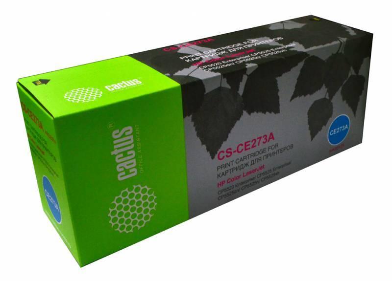 Тонер Картридж Cactus CS-CE273A пурпурный - фото 1