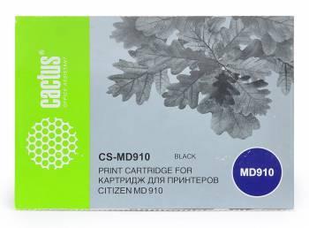Картридж ленточный Cactus CS-MD910 черный