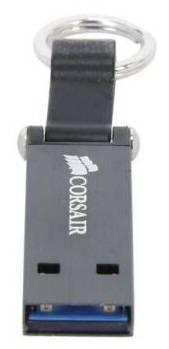 Флеш диск 32Gb Corsair Voyager Mini USB3.0 черный / серый