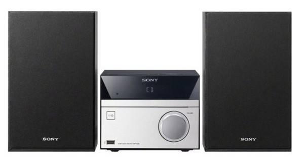Микросистема Sony CMT-S20 черный/серебристый - фото 1