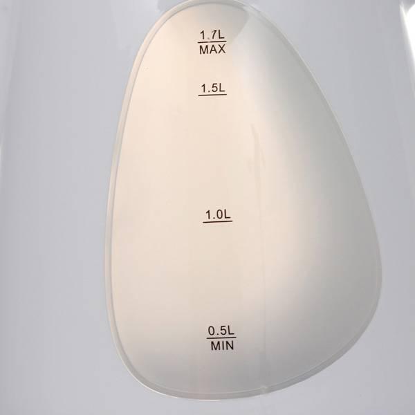 Чайник электрический Supra KES-1708 белый/фисташковый (5131) - фото 4