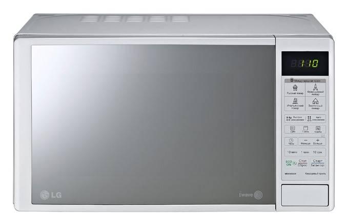 СВЧ-печь LG MB4043DAR серебристый - фото 2