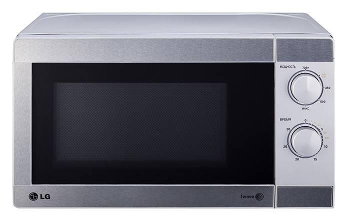 СВЧ-печь LG MS2022U серый - фото 1