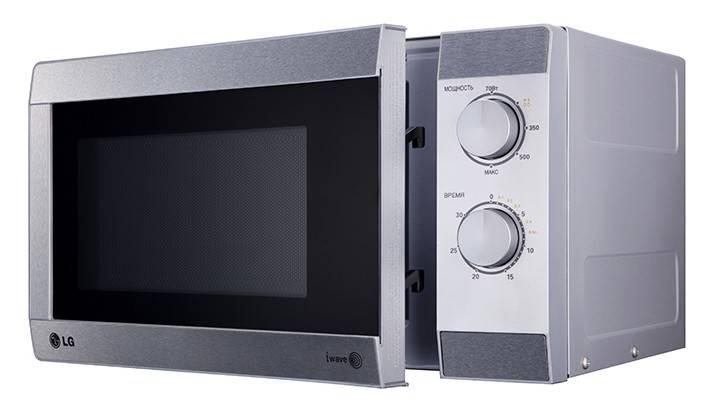 СВЧ-печь LG MS2022U серый - фото 2