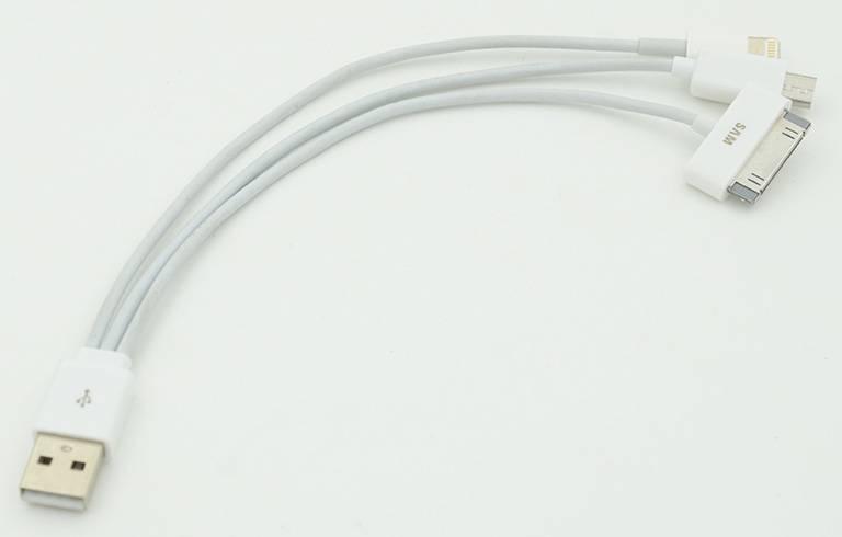 Кабель USB A(m)-micro USB B (m) 0.2м - фото 1