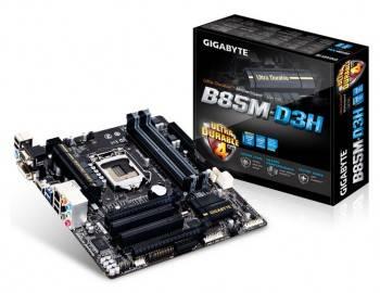 Материнская плата Gigabyte GA-B85M-D3H Soc-1150 mATX