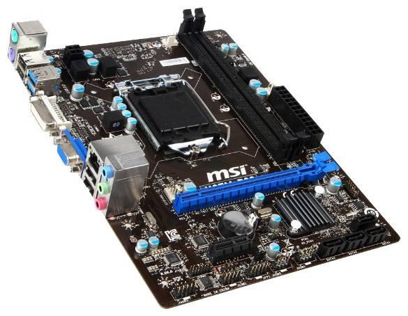 Материнская плата Soc-1150 MSI H87M-P33 mATX - фото 2