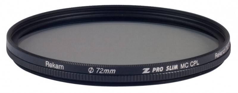 Фильтр поляризационный Rekam Z PRO SLIM CPL MC 72мм - фото 1