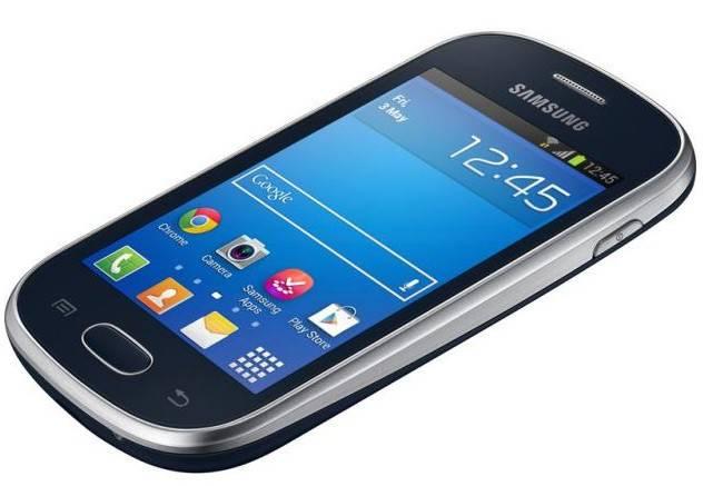 Смартфон Samsung Galaxy Trend GT-S7390 4ГБ красный - фото 1
