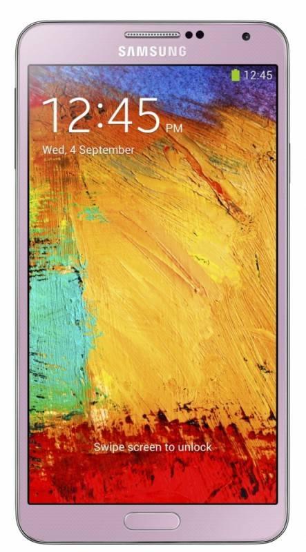 Смартфон Samsung Galaxy Note 3 SM-N9000 32ГБ розовый - фото 1