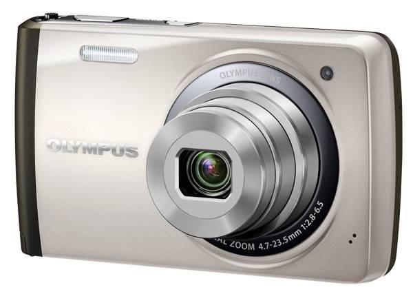 Фотоаппарат Olympus VH-410 серебристый - фото 1