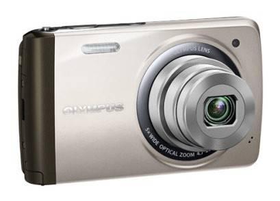 Фотоаппарат Olympus VH-410 серебристый - фото 2