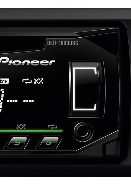 Автомагнитола Pioneer DEH-1600UBG - фото 4