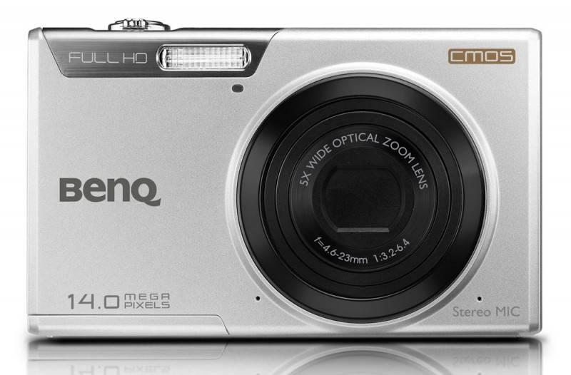 Фотоаппарат Benq LR100 серебристый - фото 1