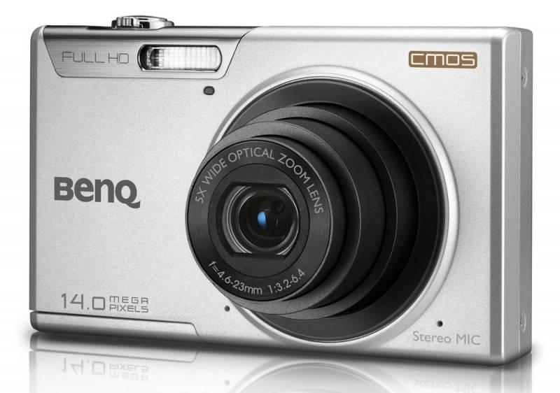 Фотоаппарат Benq LR100 серебристый - фото 2